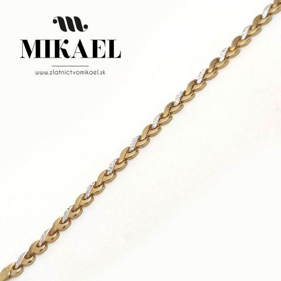 Zlatá retiazka MR04